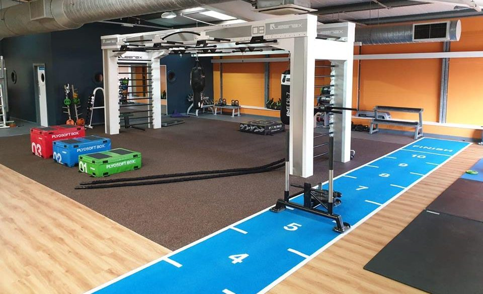 Places Gym Sheffield - training rig