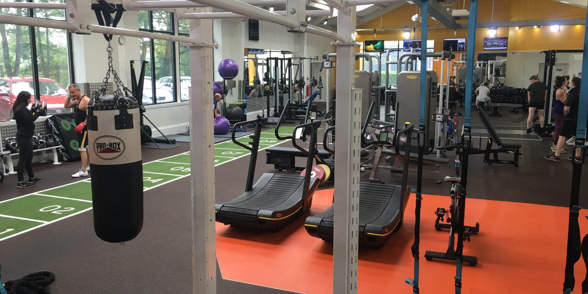 Places Gym Chesterfield - resistence