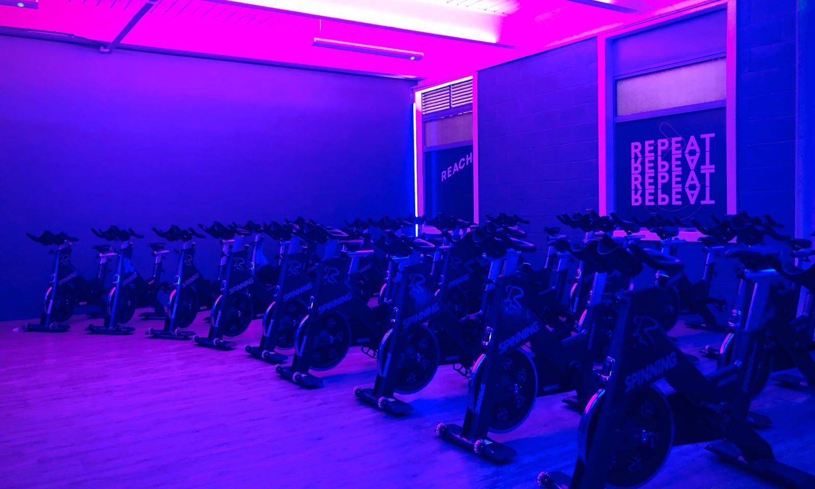Spin studio - Places Gym Hinckley